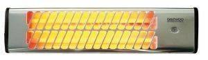 ΣΟΜΠΑ ΧΑΛΑΖΙΑ ΕΠΙΤΟΙΧΙΑΣ ΤΟΠΟΘΕΤΗΣΗΣ DAEWOO DHS-3175Q 1500WATT ηλεκτρικές συσκευές σομπεσ αλογονου