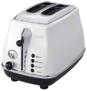 ΦΡΥΓΑΝΙΕΡΑ DELONGHI CTO2003.W WHITE ηλεκτρικές συσκευές φρυγανιερεσ 900 watt και ανω