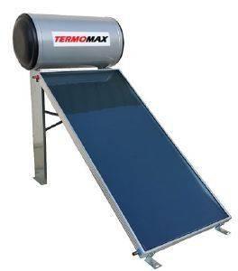 ΗΛΙΑΚΟΣ ΘΕΡΜΟΣΙΦΩΝΑΣ GAUZER TERMOMAX 120LT/2M² GLASS ΔΙΠΛΗΣ ΕΝΕΡΓΕΙΑΣ ΜΕ ΕΠΙΛΕΚΤ ηλεκτρικές συσκευές ηλιακοι θερμοσιφωνεσ 120 lt