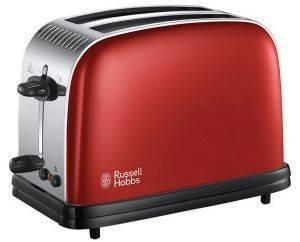 ΦΡΥΓΑΝΙΕΡΑ RUSSELL HOBBS FLAME RED 23330 ηλεκτρικές συσκευές φρυγανιερεσ 900 watt και ανω