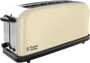 ΦΡΥΓΑΝΙΕΡΑ RUSSELL HOBBS COLOURS CLASSIC CREAM 21395 ηλεκτρικές συσκευές φρυγανιερεσ 900 watt και ανω