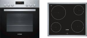 ΣΕΤ ΦΟΥΡΝΟΣ-ΕΣΤΙΑ PITSOS FAMILY PA10CF00 (PE10M40X0 + BRE645G06) ηλεκτρικές συσκευές σετ φουρνοι εστιεσ σετ φουρνοι κουζινεσ
