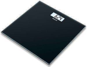 ΓΥΑΛΙΝΗ ΖΥΓΑΡΙΑ ΜΠΑΝΙΟΥ BEURER GS 10 BLACK ηλεκτρικές συσκευές ζυγαριεσ ψηφιακεσ