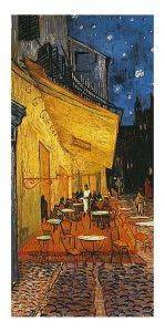ΑΝΤΙΓΡΑΦΟ TERRASSE DE CAFE, LA NUIT 50 Χ 100 CM σπίτι  amp  διακόσμηση αντιγραφα 50 100