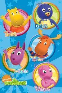 POSTER BACKYARDIGANS CHARACTERS 61 X 91.5 CM