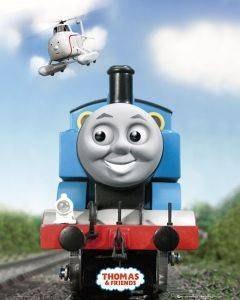 POSTER THOMAS AND FRIENDS SOLO 40.6 X 50.8 CM