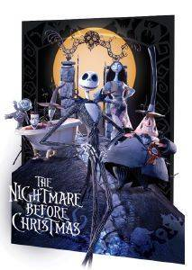 3D POSTER THE NIGHTMARE BEFORE CHRISTMAS 46.8 X 67.1 CM σπίτι  amp  διακόσμηση 3d posters σινεμα