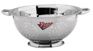 VENUS ΣΟΥΡΩΤΗΡΙ ΜΕ INOX ΛΑΒΕΣ 29CM New Line σουρωτήρι από ανοξείδωτο ατσάλι με 2 inox λαβές και διάμετρο 29cm  την υπογραφή της Venus Υλικό