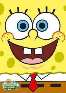 POSTER SPONGEBOB BIG FACE 61 X 91.5 CM