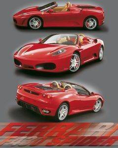 POSTER F-430 SPIDER 40.6 X 50.8 CM