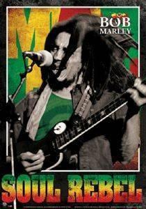 3D POSTER BOB MARLEY - (SOUL REBEL) 47 X 67 CM σπίτι  amp  διακόσμηση 3d posters μουσικη