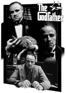 3D POSTER GODFATHER - MONTAGE 47 X 67 CM σπίτι  amp  διακόσμηση 3d posters σινεμα