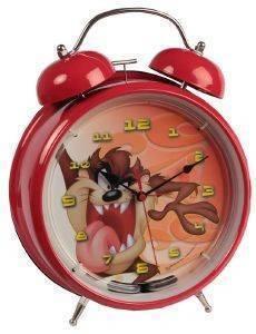 ΞΥΠΝΗΤΗΡΙ HOLLYTOON ΤΑΖ ANGRY ΚΟΚΚΙΝΟ σπίτι  amp  διακόσμηση παιδικα ρολογια ξυπνητηρια