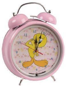 ΞΥΠΝΗΤΗΡΙ HOLLYTOON TWEETY CLICK EYE ΡΟΖ σπίτι  amp  διακόσμηση παιδικα ρολογια ξυπνητηρια