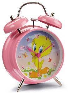 ΞΥΠΝΗΤΗΡΙ HOLLYTOON LOONEY TUNES TWEETY 10CM σπίτι  amp  διακόσμηση παιδικα ρολογια ξυπνητηρια