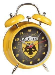 ΞΥΠΝΗΤΗΡΙ FANATICS ΑΕΚ (ΜΕΣΑΙΟ ΜΕΓΕΘΟΣ) σπίτι  amp  διακόσμηση παιδικα ρολογια ξυπνητηρια