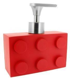 DISPENSER RED - WHITE BY MARVA LEGON ΚΟΚΚΙΝΟ σπίτι  amp  διακόσμηση αξεσουαρ μπανιου dispenser