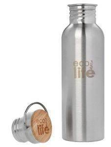ΑΝΟΞΕΙΔΩΤΟ ΜΠΟΥΚΑΛΙ ECOLIFE BAMBOO 750ML σπίτι  amp  διακόσμηση μπουκαλια νερου μπουκαλια νερου