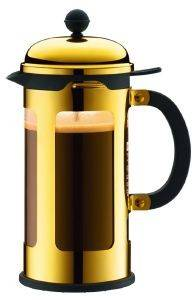 ΚΑΦΕΤΙΕΡΑ BODUM CHAMBORD ΜΕ ΠΡΕΣΑ 3 ΚΟΥΠΕΣ ΧΡΥΣΟ 0,35LT σπίτι  amp  διακόσμηση καφετιερεσ   τσαγιερεσ καφετιερεσ