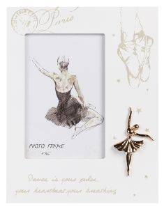 ΚΟΡΝΙΖΑ  PHOTO FRAMES PARIS DANCE MDF  10X15CM