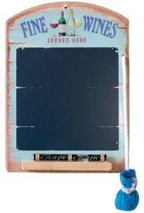 ΣΗΜΕΙΩΜΑΤΑΡΙΟ PADBLOCKS ΞΥΛΟ FINE WINES 22Χ16CM σπίτι  amp  διακόσμηση διακοσμητικα αντικειμενα σημειωματαρια