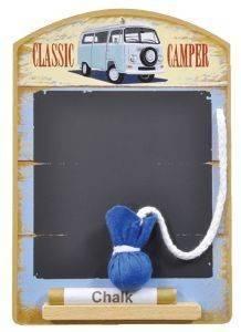 ΣΗΜΕΙΩΜΑΤΑΡΙΟ PADBLOCKS ΞΥΛΟ CLASSIC CAMPER 22Χ16CM σπίτι  amp  διακόσμηση διακοσμητικα αντικειμενα σημειωματαρια
