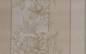 ΤΑΠΕΤΣΑΡΙΑ PETRANIS ΝΟ 192 ΛΟΥΛΟΥΔΙΑ ΜΠΕΖ ΚΑΙ ΕΚΡΟΥ ΑΝΑΓΛΥΦΗ 0.53X10.05CM σπίτι  amp  διακόσμηση ταπετσαριεσ λουλουδια