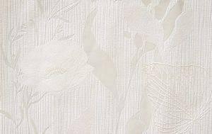 ΤΑΠΕΤΣΑΡΙΑ PETRANIS ΝΟ 300 ΛΟΥΛΟΥΔΙΑ ΚΑΙ ΦΥΛΛΑ ΣΕ ΕΚΡΟΥ ΦΟΝΤΟ ΑΝΑΓΛΥΦΗ 0.53X10.0 σπίτι  amp  διακόσμηση ταπετσαριεσ λουλουδια