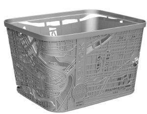 ΚΟΥΤΙ CURVER CITY NEW YORK ΠΛΑΣΤΙΚΟ ΓΚΡΙ 35X35X22CM σπίτι  amp  διακόσμηση οργανωση ντουλαπασ κουτια φυλαξησ
