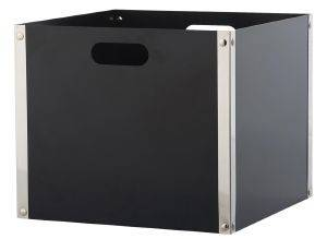 ΞΥΛΟΘΗΚΗ ZOGOMETAL K31 BLACK/NICKEL MAT 37X37X42CM
