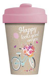 ΠΟΤΗΡΙ BAMBOOCUP  HAPPY LOOKS GOOD      403ML