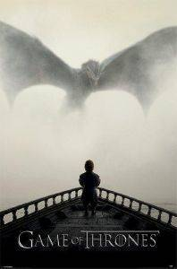 POSTER  GAME OF THRONES DRAGON  61 X 91.5 CM