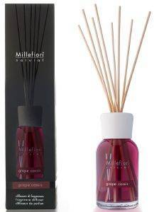 ΑΡΩΜΑΤΙΚΟ ΧΩΡΟΥ MILLEFIORI DIFFUSER WITH STICKS GRAPE CASSIS  100ML