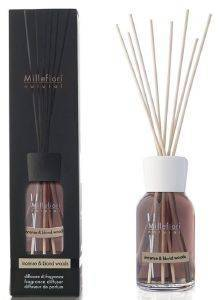 ΑΡΩΜΑΤΙΚΟ ΧΩΡΟΥ MILLEFIORI DIFFUSER WITH STICKS INCENSE & BLOND WOODS 100ML