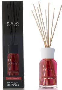 ΑΡΩΜΑΤΙΚΟ ΧΩΡΟΥ MILLEFIORI DIFFUSER WITH STICKS MELA & CANNELLA  100ML