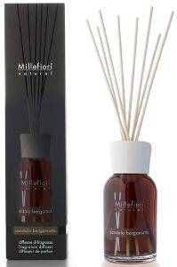 ΑΡΩΜΑΤΙΚΟ ΧΩΡΟΥ MILLEFIORI DIFFUSER WITH STICKS SANDALO BERGAMOTTO 100ML