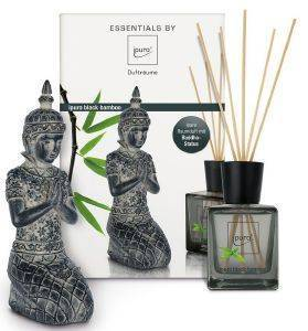 ΑΡΩΜΑΤΙΚΟ ΧΩΡΟΥ IPURO BLACK BAMBOO GIFTSET 200ML+MINI BUDDHA