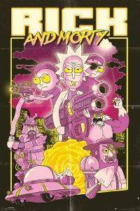 POSTER RICK AND MORTY 61 X 91.5 CM