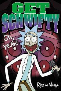 POSTER RICK AND MORTY GET SCHWIFTT 61 X 91.5 CM
