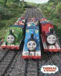MINI POSTERS 40*50 - POSTER THOMAS AND FRIENDS TRIO 40.6 X 50.8 CM