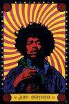 3D POSTERS - 3D POSTER JIMI HENDRIX PSYCHEDELIC  46.8 X 67.1 CM
