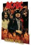 3D POSTERS - 3D POSTER AC DC HIGHWAY TO HELL  46.8 X 67.1 CM