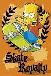 POSTERS 61*91.5 - POSTER THE SIMPSONS SKATE ROYALTY 61 X 91.5 CM
