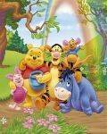 MINI POSTERS 40*50 - POSTER WINNIE THE POOH GROUP 40.6 X 50.8 CM