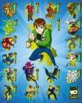 MINI POSTERS 40*50 - POSTER BEN 10 COMPLICATION 40.6 X 50.8 CM