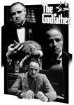 3D POSTERS - 3D POSTER GODFATHER - MONTAGE 47 X 67 CM