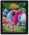 3D POSTERS - 3D POSTER TROLLS (CHARACTERS) 25.4X20.32CM