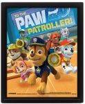 3D POSTERS - 3D POSTER PAW PATROL (TO THE PAW PATROLLER) 25.4X20.32CM
