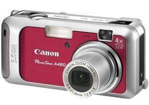 CANON POWERSHOT A460 RED