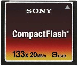 SONY COMPACT FLASH 133X 8GB